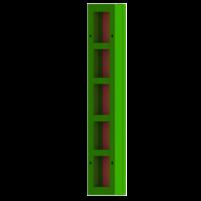 Щит линейный 0,3×1,5