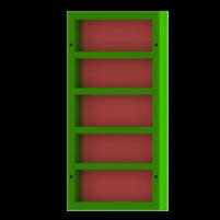 Щит линейный 0,8×1,5