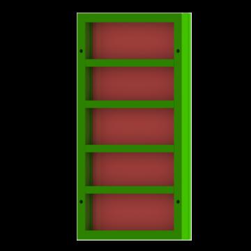 Щит линейный 08×15