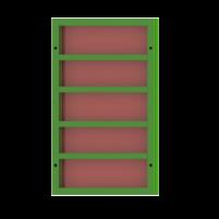 Щит линейный 0,9×1,5