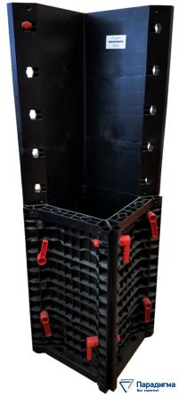 Пластиковая колонна квадратного сечения