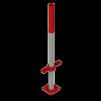 Домкрат нижний  опорный резьбовой элемент устанавливается на несущую площадку обеспечивает предварительную юстировку стола воспринимает на себя всю нагрузку от опалубки и передает ее на несущую площадку